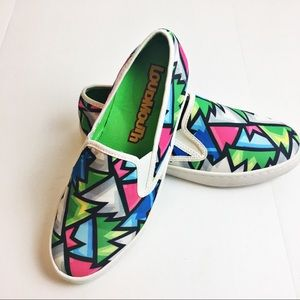 Loudmouth slip on sneakers